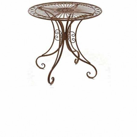 Table nostalgie jardin