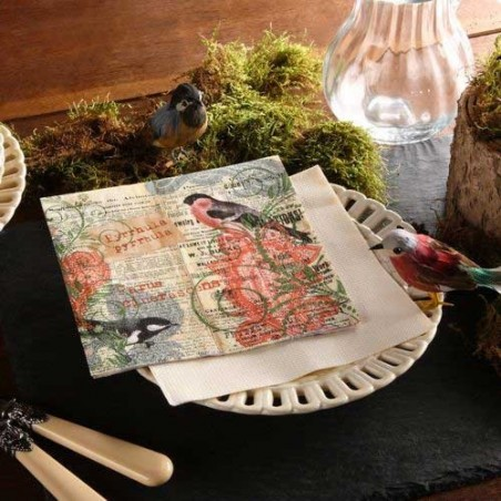 Serviettes Papier Robin