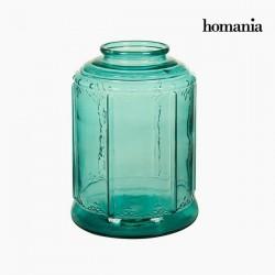 vaso di vetro per candela