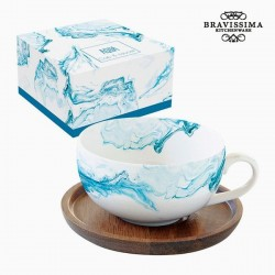 Infusion cup, blue water