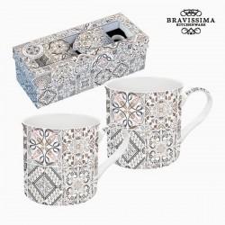 2 tazze piccole, mosaico