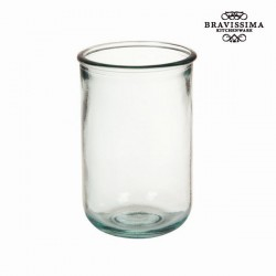 High drinking glass, transparent