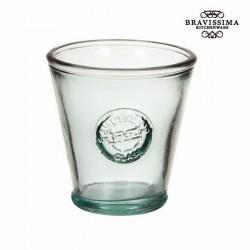 Trinkglas aus Glas, konisch