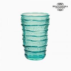 Vaas van gerecycled glas...