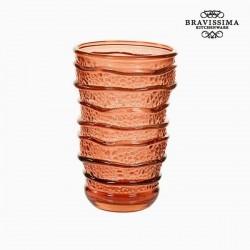 Coral glass (13 cm)
