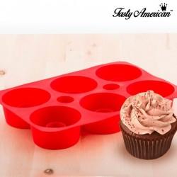 Cupcake-Form aus Silikon
