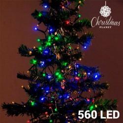 Veelkleurige Kerstlampjes...