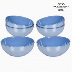 Blue bowls set (6 pcs)