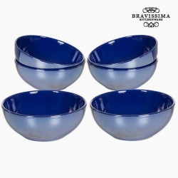 Set of bowls Blue Marine Dinnerware (6 pcs)