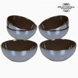 Schalenset Braun (6 Stück)