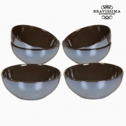 Set of bowls Brown (6 pcs)