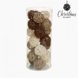 Weihnachtsbaumkugeln Kaffee Weiß Champagner (21 pcs)