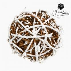 Weihnachtsbaumkugeln Weiß Gold (6 pcs)