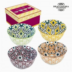 Set de cuencos Porcelana (4 piezas) color