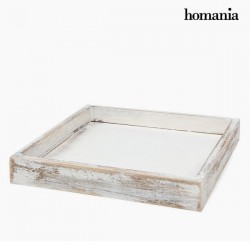 square white wooden tray