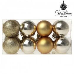 Weihnachtsbaumkugeln Christmas 6967 4 cm (16 uds) Golden