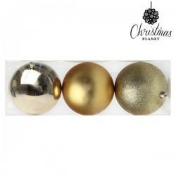 Weihnachtsbaumkugeln Christmas 7193 10 cm (3 uds) Golden