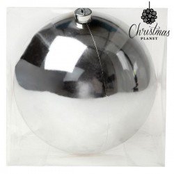 Christmas Bauble Christmas 7605 20 cm Silver
