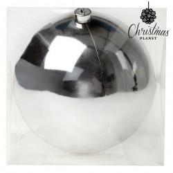 Weihnachtsbaumkugel Christmas 7605 20 cm Silberfarben