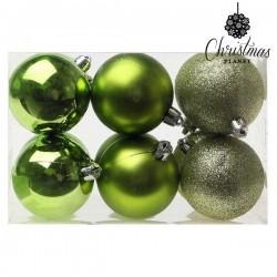 Weihnachtsbaumkugeln Christmas 8213 6 cm (12 uds) Grün