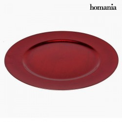Flat plate christmas Red