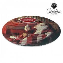 Dekorativer Teller Weihnachtsmann