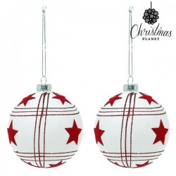 Palle di Natale Christmas 8656 8 cm (2 uds)