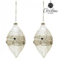 Palle di Natale Christmas 2225 (2 uds) Geam Dorato