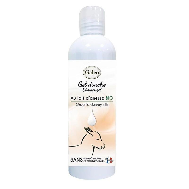 Gel de ducha de leche de burro orgánico