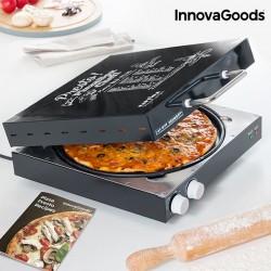 Elektrischer Pizzaofen mit Rezeptbuch!