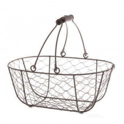 Mesh oval basket