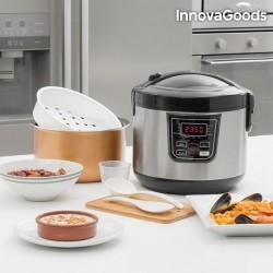 Smart Küchenmaschine mit Rezeptbuch 4 L 800W Schwarz Stahl