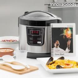 Robot da Cucina con Ricettario Smart - 4 L 800W Nero Acciaio