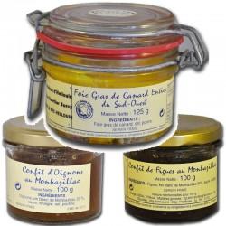 foie gras d'anatra e confit - Gastronomia francese online