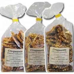 Crunchy Verkostung Original französische Kekse