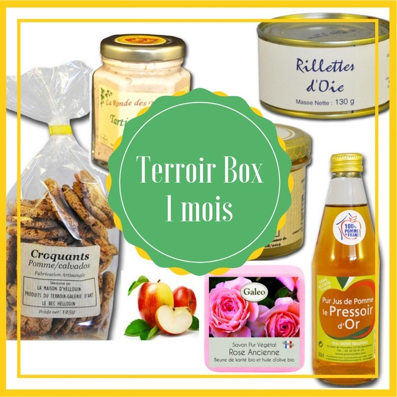 The box of the terroir - for gourmands