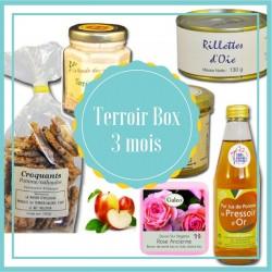 Box 3 maanden terroir - Franse terroirproducten