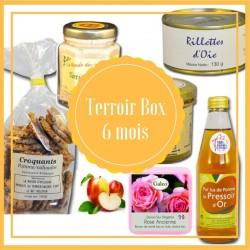 Box terroir 6 mois - produits du terroir francais