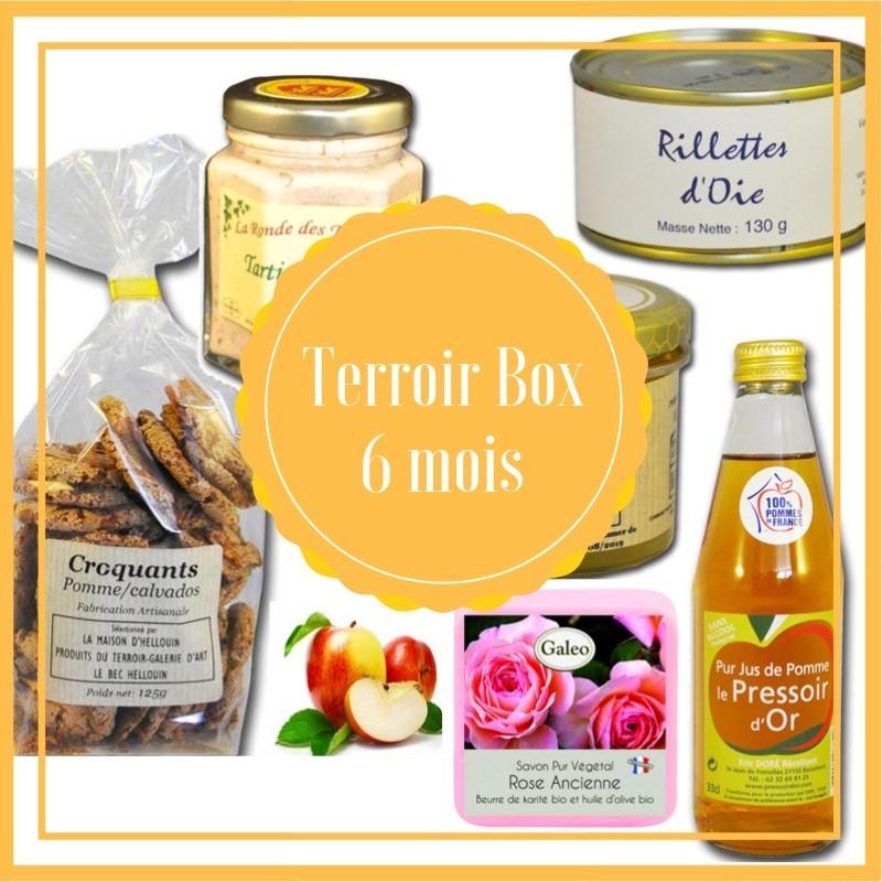 Box terroir 6 maanden - lokale producten frans
