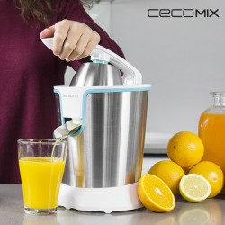 Electric Juicer with Handle Adjust White 4076 160W Steel