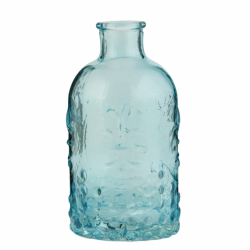 Vintage bottle, blue