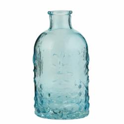 Vintage fles, blauw