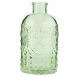 Botella vintage, verde