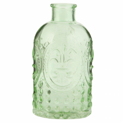 Flacon vintage, vert