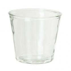 Glazen vaas, uitlopend