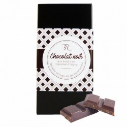 Zwarte chocolade met...