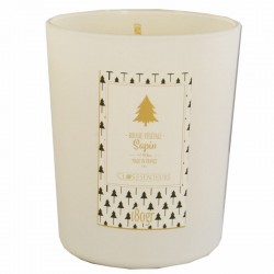 Scented candle fir tree