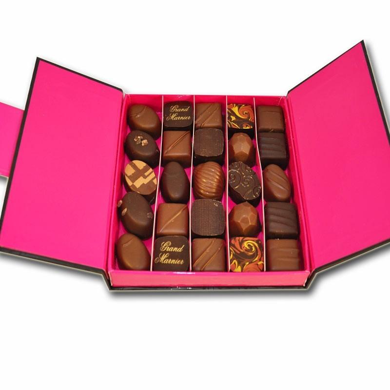 Coffret de chocolats, 245g - épicerie fine en ligne