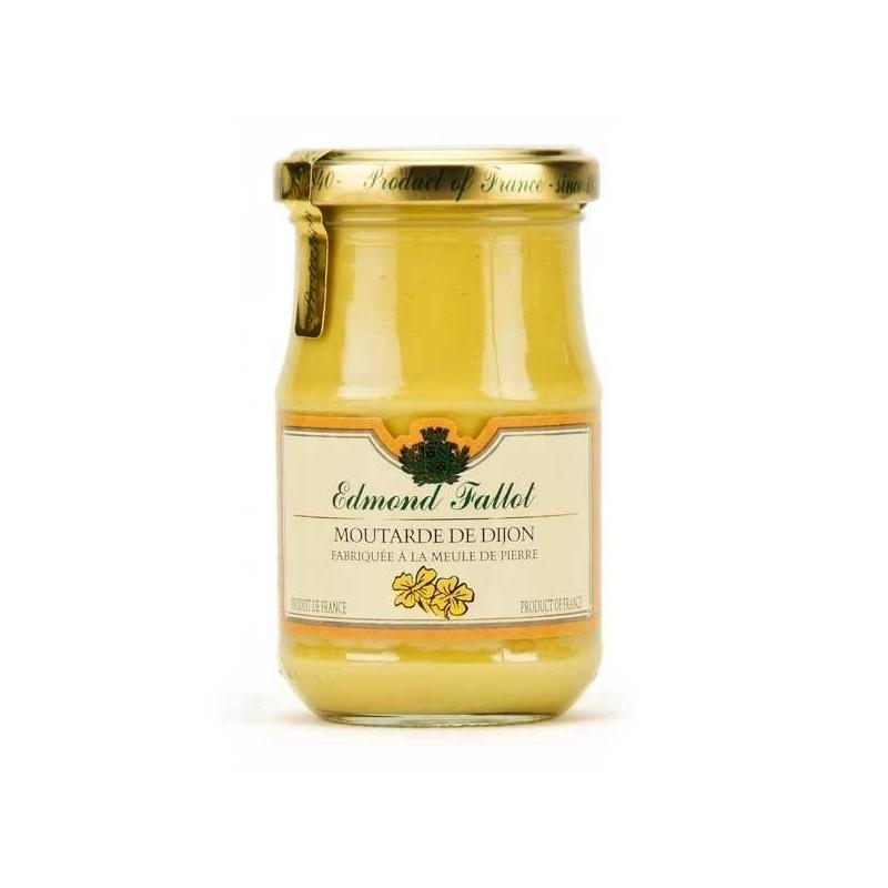 Mostarda di Digione, fallot, 210g - Gastronomia francese online