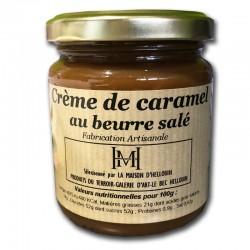 Crema de caramelo con mantequilla salada - delicatessen francés online